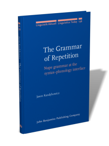 The Grammar of Repetition Cover